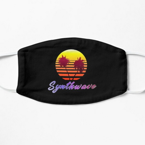 Synthwave Sun (with palm trees)