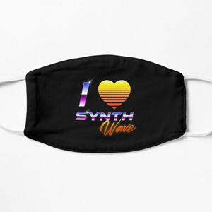 I Love Synthwave - Masks