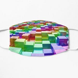 Rainbow Cubes - Masks