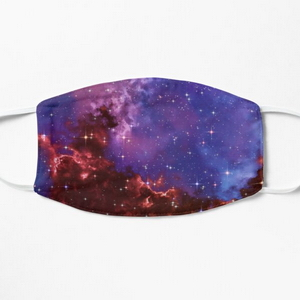 Fantasy nebula cosmos sky in space with stars (Blue/Purple/Red/Yellow/Pink) - Masks