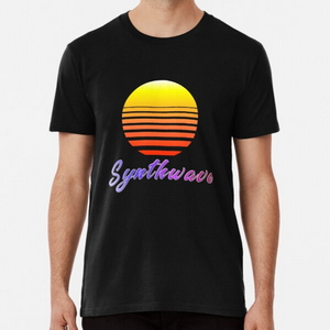 Synthwave Sun - T-shirts