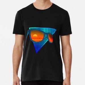 Sunglasses in space (Blue)